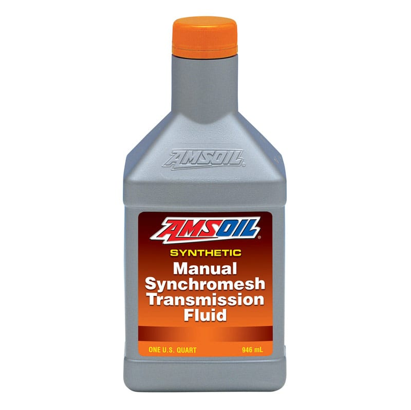 AMSOIL Synthetic manual synchromesh transmission fluid