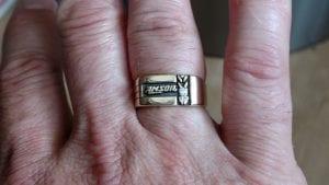 AMSOIL regency ring with diamonds