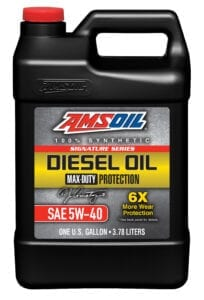 AMSOIL 5W-40 synthetic diesel motor oil