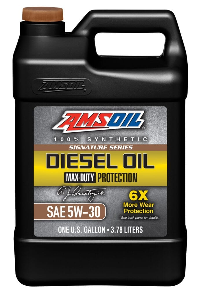 Signature Series 5W-30 Max-Duty Synthetic Diesel Oil (DHD)