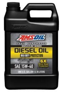 AMSOIL 15W-40 synthetic diesel motor oil