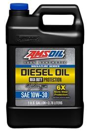 AMSOIL 10W-30 Synthetic diesel motor oil