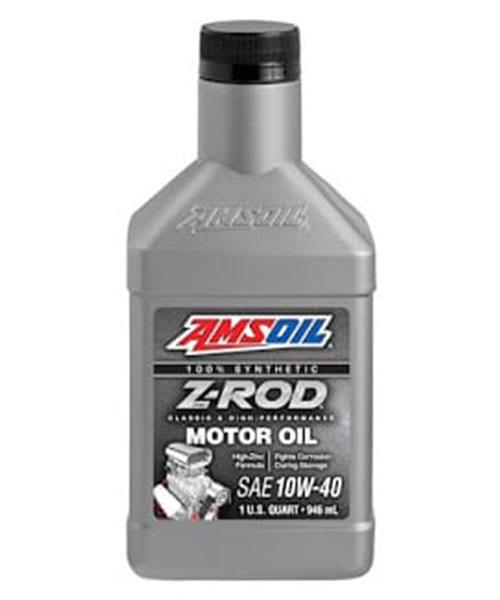 AMSOIL Z-Rod 10W-40 Synthetic Motor Oil