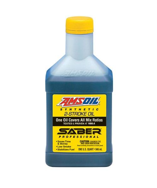 AMSOIL Saber Professional 2-stroke oil