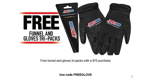 Free funnel and gloves promotion