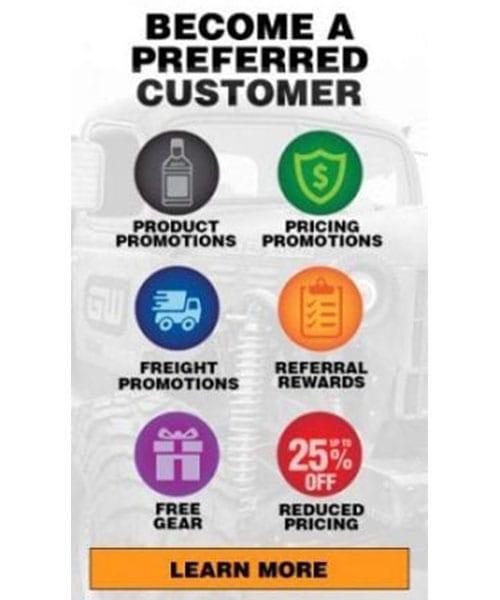 AMSOIL preferred customer benefits