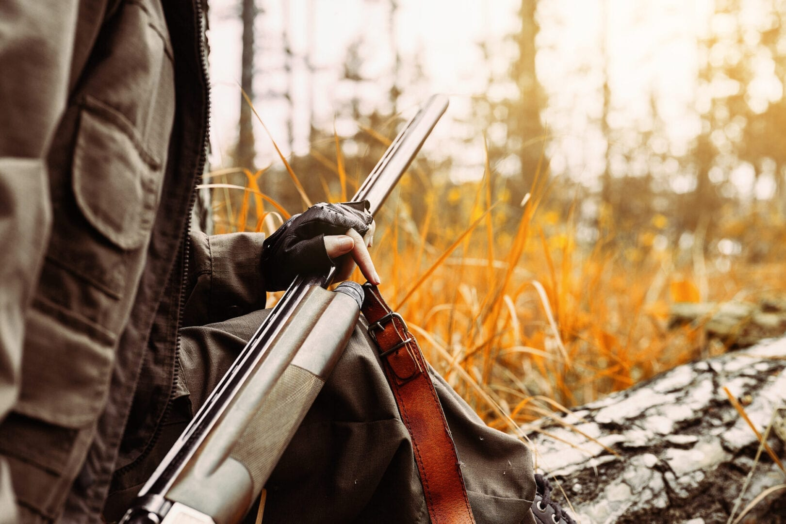 Hunter shotgun protected with AMSOIL