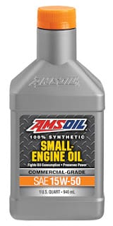15W-50 Small Engine Oil quart