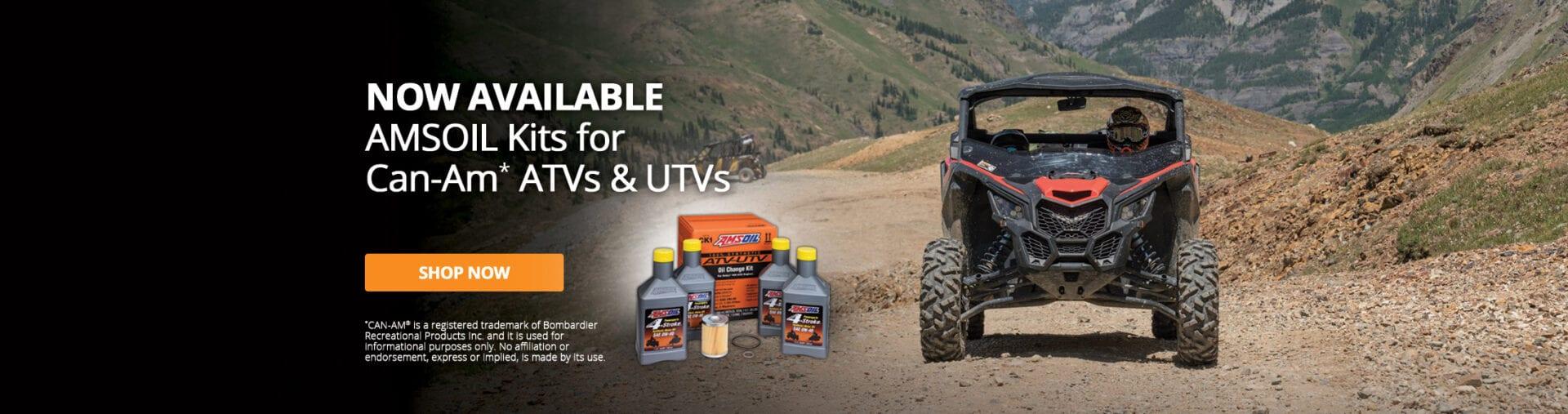 AMSOIL CAN-AM ATV/UTV Oil Change Kits